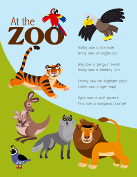 At the Zoo (FREE POEM)