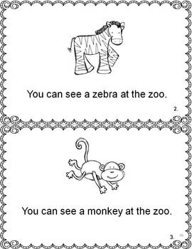 At the Zoo: Grades K-1