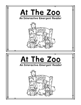 Zoo Matching Emergent Reader