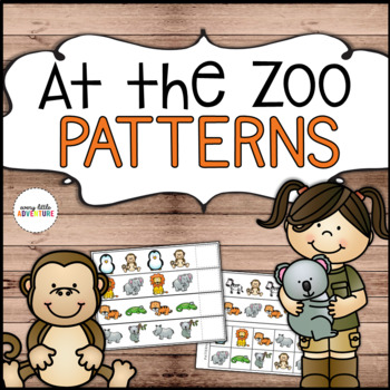 At the Zoo Pattern Strips
