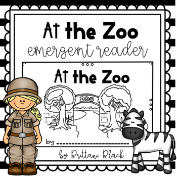 At the Zoo- emergent reader
