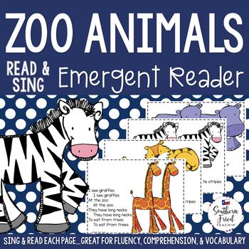 Zoo Animals Emergent Reader