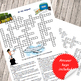 At the airport crossword puzzle - transport vocabulary