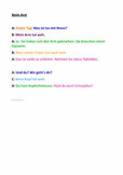 At the doctor's -- German role play text (health)