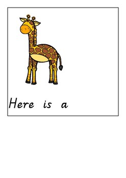 At the zoo adapted book