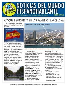 Ataque en Las Ramblas, Barcelona: SPECIAL EDITION El mundo en tus manos