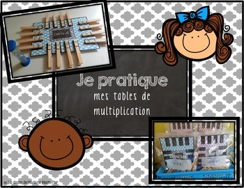 Atelier - Je pratique mes tables de multiplication