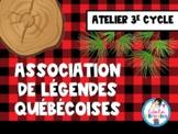Atelier-Légendes québécoises