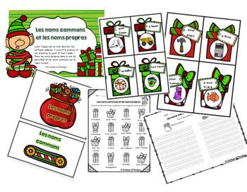 Atelier Noël Les noms propres et les noms communs