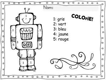 Atelier alphabet robot