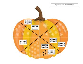 Atelier d'Halloween - Les citrouilles mathématiques