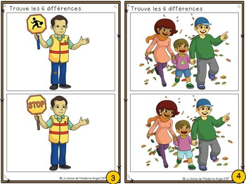 Atelier d'écriture:  Trouve les différences