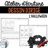 Atelier d'écriture pour l'Halloween:  Dessin dirigé