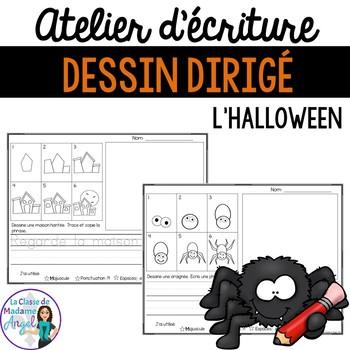 Atelier D écriture Pour L Halloween Dessin Dirigé