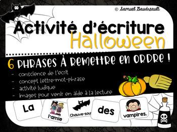 Atelier d'écriture sur l'Halloween
