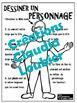 Atelier d'arts plastiques: Comment dessiner un personnage.