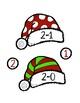 Atelier de Noël - Les tuques du père Noël (math)