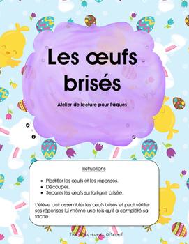 Atelier de Pâques - Les oeufs brisés (lecture)