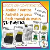 Atelier de blocs de construction - St-Patrick / FRENCH con