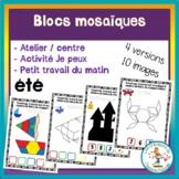 Atelier de blocs mosaïques - été / FRENCH Summer pattern b