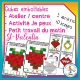 Atelier de cubes emboitables - St-Valentin / FRENCH counti