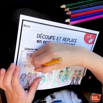 Atelier de Lecture Maternelle /Literacy French STEM: Mot du jour