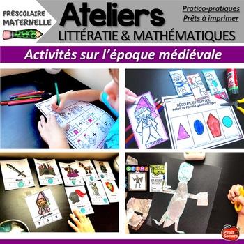 Ateliers de maths /STEM French/ Mot du jour/ Medieval Times/ Cercles littéraires