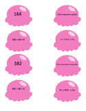 Atelier de numération, série rose, nombres de 0-1000
