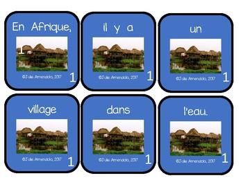Atelier de phrases en désordres * Les  différentes maisons dans le monde