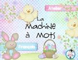 Atelier français- La machine à mots