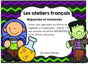 Atelier français Majuscule/minuscule de Frankenstein
