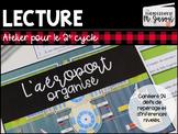 Atelier lecture: L'aéroport // 2e cycle