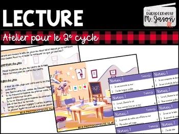 Atelier lecture: Ma salle de jeu // 2e cycle