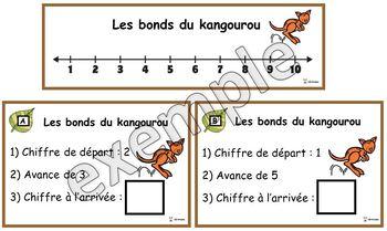 Atelier: les bonds du kangourou