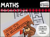Atelier maths: Casse-tête décomposition // 2e cycle