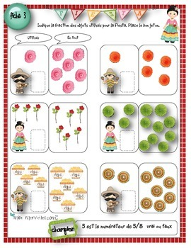 Atelier sur les fractions / fractions