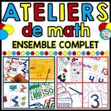 Ateliers - Centres de mathématiques  - BUNDLE - French Mat