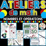 Ateliers de math - Nombres et opérations