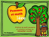 Ateliers de pommes et de Math