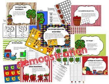 Ateliers mathématiques Septembre (la pomme)