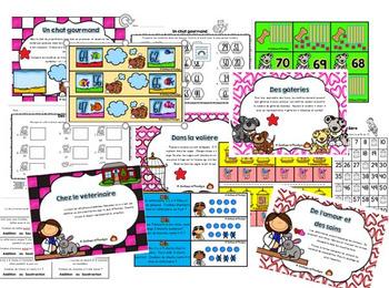Ateliers mathématiques février nbr:1 à 70: Pour l'amour des petites bêtes