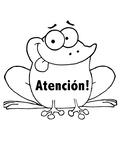 Atención! Attention! (frogs)