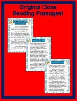 Athena & Poseidon ~ Passages & Questions for Google Classroom