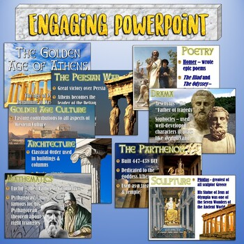 Athens Golden Age of Pericles PowerPoint