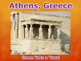 Athens, Greece Virtual Field Trip PowerPoint (Ancient Greece)