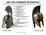Athens & Sparta Personality Quiz