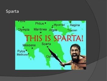 Athens & Sparta PowerPoint (Teacher Version)