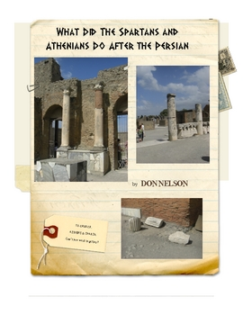 Athens & Sparta after the Persian Wars: Greece by Don Nelson