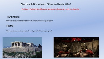 Athens V. Sparta