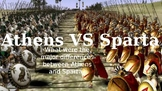 Athens VS Sparta: Comparing Two City-States